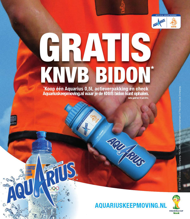 Aquarius KNVB-bidon