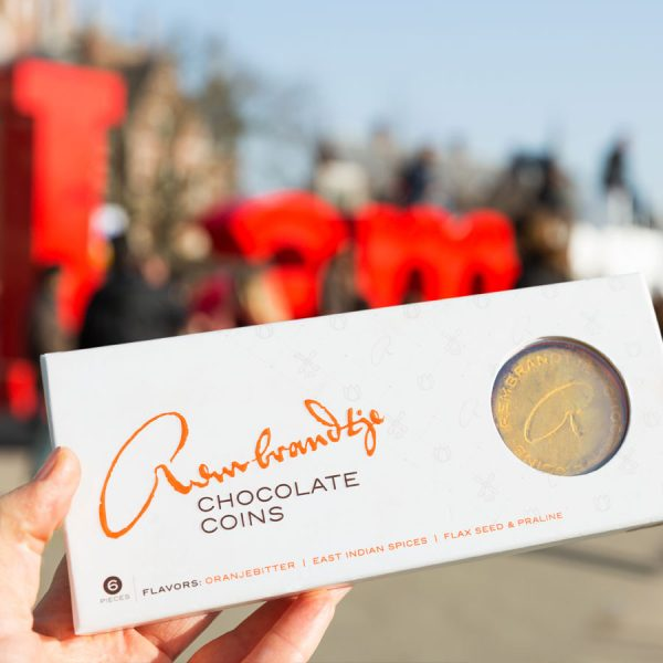 Rembrandtje Chocolate Coins