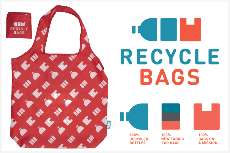 Recycle Bags 100% bags on a mission