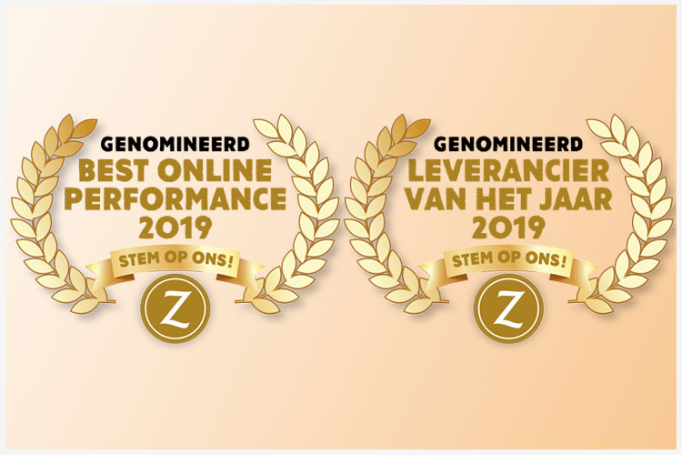 Nominaties Leveranciers of the Year 2019