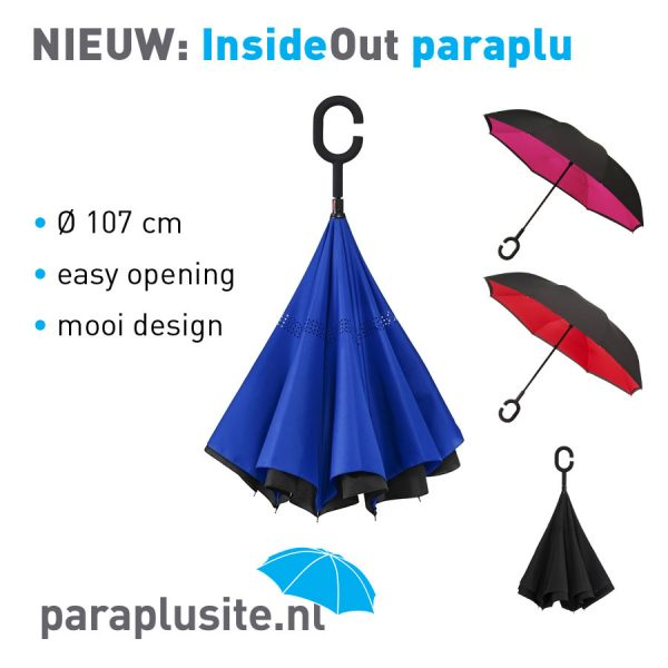 Inside Out of Reversible paraplu