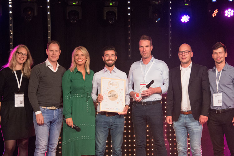 Maxilia winnaar Best Online Performance 2019