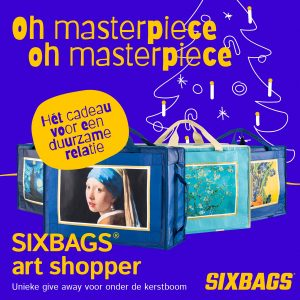 SIXBAGS shopper, tas met 6 draagfuncties (1)