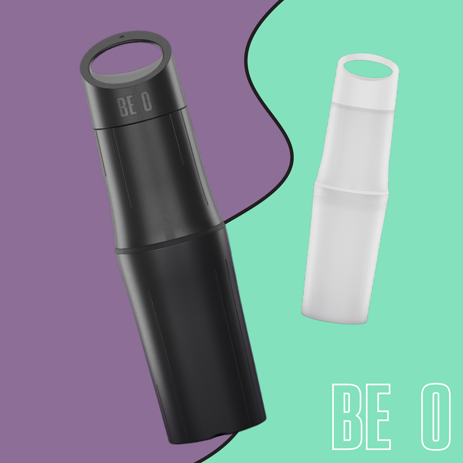 BE O bottle