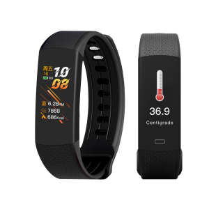 Smart watch met thermometer