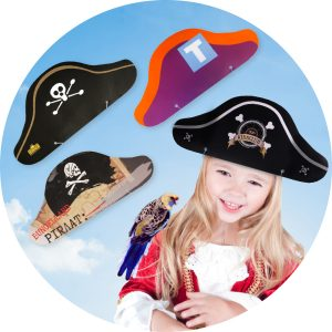 Piratencaps bedrukken