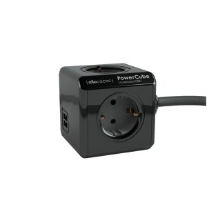PowerCube-Extended-Duo-USB-Zwart-1,5